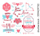 hand lettered vintage st.... | Shutterstock .eps vector #559429732