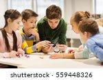 education  children  technology ... | Shutterstock . vector #559448326