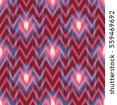 abstract ethnic ikat pattern... | Shutterstock .eps vector #559469692