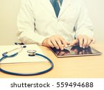 healthcare medical concept.male ... | Shutterstock . vector #559494688