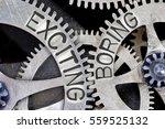 macro photo of tooth wheel... | Shutterstock . vector #559525132