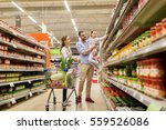 sale  consumerism and people... | Shutterstock . vector #559526086