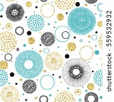 seamless print of circles hand... | Shutterstock .eps vector #559532932