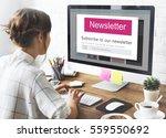 join us register newsletter... | Shutterstock . vector #559550692