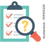 faq vector icon | Shutterstock .eps vector #559555105