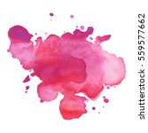 abstract hand drawn watercolor... | Shutterstock .eps vector #559577662