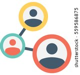team vector icon | Shutterstock .eps vector #559586875