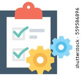planning vector icon | Shutterstock .eps vector #559586896