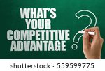 whats your competitive... | Shutterstock . vector #559599775