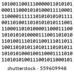 Binary Code Vector Symbol Icon...