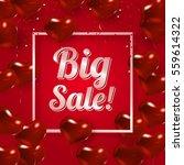happy valentines day design.... | Shutterstock .eps vector #559614322