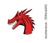 dragon animal icon | Shutterstock .eps vector #559616092