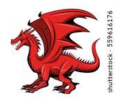 dragon animal icon | Shutterstock .eps vector #559616176