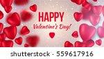 valentines day banner... | Shutterstock .eps vector #559617916