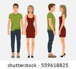 vector illustration of men in... | Shutterstock .eps vector #559618825