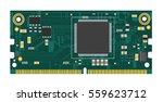 compute module board for... | Shutterstock .eps vector #559623712