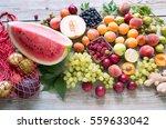 fruits | Shutterstock . vector #559633042
