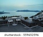 landscape of santorini island ... | Shutterstock . vector #559652596