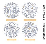 doodle vector concepts of... | Shutterstock .eps vector #559697125