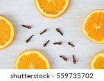 Sliced Oranges With Aromatic...