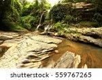 the waterfall   Shutterstock . vector #559767265