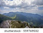 beautiful scenery from top of... | Shutterstock . vector #559769032