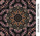 festival art seamless mandala... | Shutterstock . vector #559774696