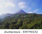 adams peak  in sri lanka  | Shutterstock . vector #559790152