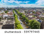 panoramic aerial view of... | Shutterstock . vector #559797445