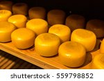 Cheese Wheels On The Shelves I...