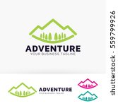 mountain travel  green  sports  ... | Shutterstock .eps vector #559799926