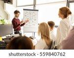 business  startup  presentation ... | Shutterstock . vector #559840762