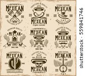mexican national attributes and ... | Shutterstock .eps vector #559841746