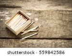 matches toned photo | Shutterstock . vector #559842586