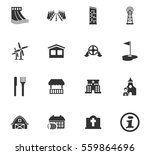 infrastructure vector icons for ... | Shutterstock .eps vector #559864696