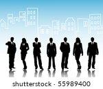 business visit card   Shutterstock .eps vector #55989400