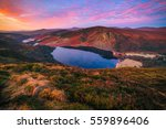 colorful morning at lough tay...   Shutterstock . vector #559896406