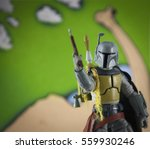 a custom painted 'star wars... | Shutterstock . vector #559930246