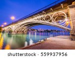 seville is divided in two by... | Shutterstock . vector #559937956
