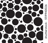 black dots on a white... | Shutterstock .eps vector #559940026