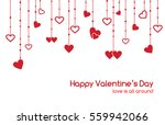 vector greeting card for... | Shutterstock .eps vector #559942066