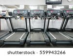 image of treadmills in a... | Shutterstock . vector #559943266