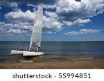 sail boat | Shutterstock . vector #55994851