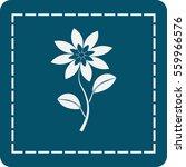 icon of the flower   Shutterstock .eps vector #559966576