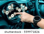 smart car and internet of... | Shutterstock . vector #559971826