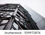 modern glass and steel facade... | Shutterstock . vector #559972876