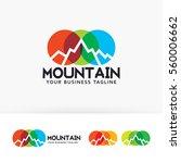 mountain  art  studio  design ... | Shutterstock .eps vector #560006662