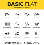 basic set of quieter  higher... | Shutterstock .eps vector #560029972