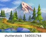 landscape  nature background...   Shutterstock . vector #560031766