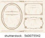 frame set vector  | Shutterstock .eps vector #560075542